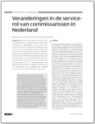 Veranderingen in de Service-Rol van Commissarissen in Nederland (In Dutch)
